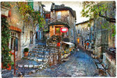 Charming villages of France provinces — Stock Photo