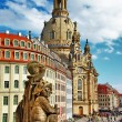 Church Frauenkirche — Stock Photo