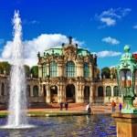 Dresden, Zwinger museum — Stock Photo #36197069