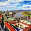 Beautiful Dresden,Germany. panoramic view — Stock Photo