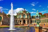 Dresden, Zwinger museum — Stock Photo