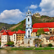 Stock Photo: Durnstein near Vienna, lower Austria, pictoial Wachau valley