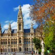 Stock Photo: Viena, city hall. Austria