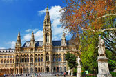 Viena, city hall. Austria — Stock Photo