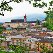 Beautiful Salzburg,Austria — Stock Photo