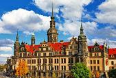 Beautiful elegant Dresden, Germany — 图库照片