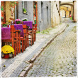 Stock Photo: Charming old streets