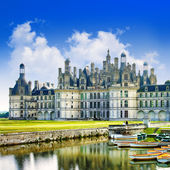 Chambord castle in France (Loire Valley) — Stock Photo