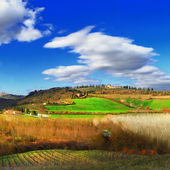 Breathtaking landscapes of Toscana, Italy — Stock Photo