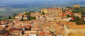 Medieval towns of Toscana, Volterra. Italy — Stock Photo