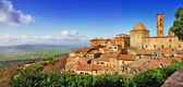 Beautiful old Volterra - medieval town of Tuscany, Italy — Stock Photo