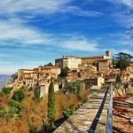 Todi - beautiful medeival town of Umbria, Italy — Stock Photo #42352973