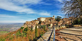 Todi - beautiful medeival town of Umbria, Italy — Stock Photo