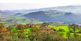 Pictorial countryside of Tuscany, Italy — Stock Photo