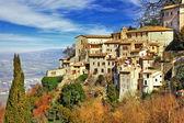 Medieval Town Todi - scenic Italy series — Stock Photo