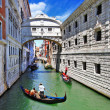 Romantic Venice - Bridge of Sighs — Stock Photo