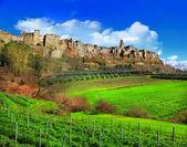 Scenic Tuscany landscapes — Stock Photo