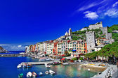 Portovenere, scenic Ligurian coast of Italy — Stock Photo