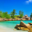 Luxury tropical holidays - Seychelles islands — Stock Photo #43066537
