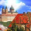 Baroque Benedictine abbey in Melk, Austria — Stock Photo
