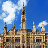 Viena, beautiful City hall. Austria — Stock Photo