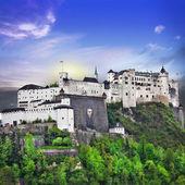 Hohensalzburg fortress, Salzburg, Austria  — Stock Photo