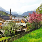 Alpen landscapes - Berchtesgaden , German-Austrian border  — Stock Photo