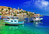 Pictorial Greece series- Symi island, Dodecanes — Stock Photo