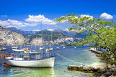 Scenery of beautiful Italy series - lago di Garda — Stock Photo