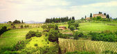 Landscape of Tuscany — Stock Photo