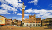 Beautiful Siena, Tuscany, Italy — Stock Photo