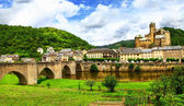 Beautiful medeival Etaing -one of the most picturesque villages — Stock Photo