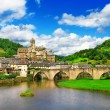 Постер, плакат: Estaing one of the most picturesque villages in France