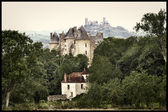 Castles of France, Montal and Saint Cere — Stock Photo