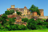Bretenoux Castelnau - medieval castle, Dordogne, France — Stock Photo