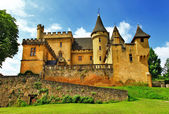 Castles of France collection - Puymartin (Dordogne department) — Stock Photo