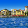 Scenic lago di Garda - Sirmione, Italy — Stock Photo #51342073