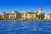 Scenic lago di Garda - Sirmione, Italy — Stock Photo