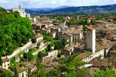 Gubbio- medieval town in Umbria, Italy — Stock Photo