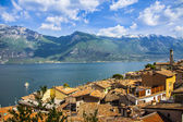 Pictorial lago di Garda, Italy — Stock Photo