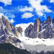 Impressive Dolomites mountains, Val di Funes, north Italy — Stock Photo #51420903