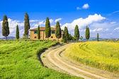 Scenic landscapes of Tuscany. Italy — Stock Photo