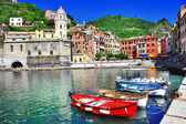 Colors of Italy series - Vernazza, Cinque terre — Stock Photo
