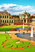 Dresden, Zwinger museum — Foto de Stock