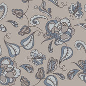 Seamless paisley pattern — Vecteur