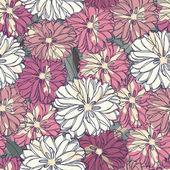 シームレスな花柄。バラの花束 — ストックベクタ