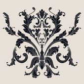 Vintage baroque pattern — Stock Vector