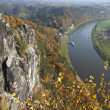 Stock Photo: Bastei rocks