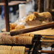 Stock Photo: Trdelnik - traditional cake