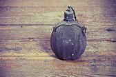 Stara butelka armii — Zdjęcie stockowe